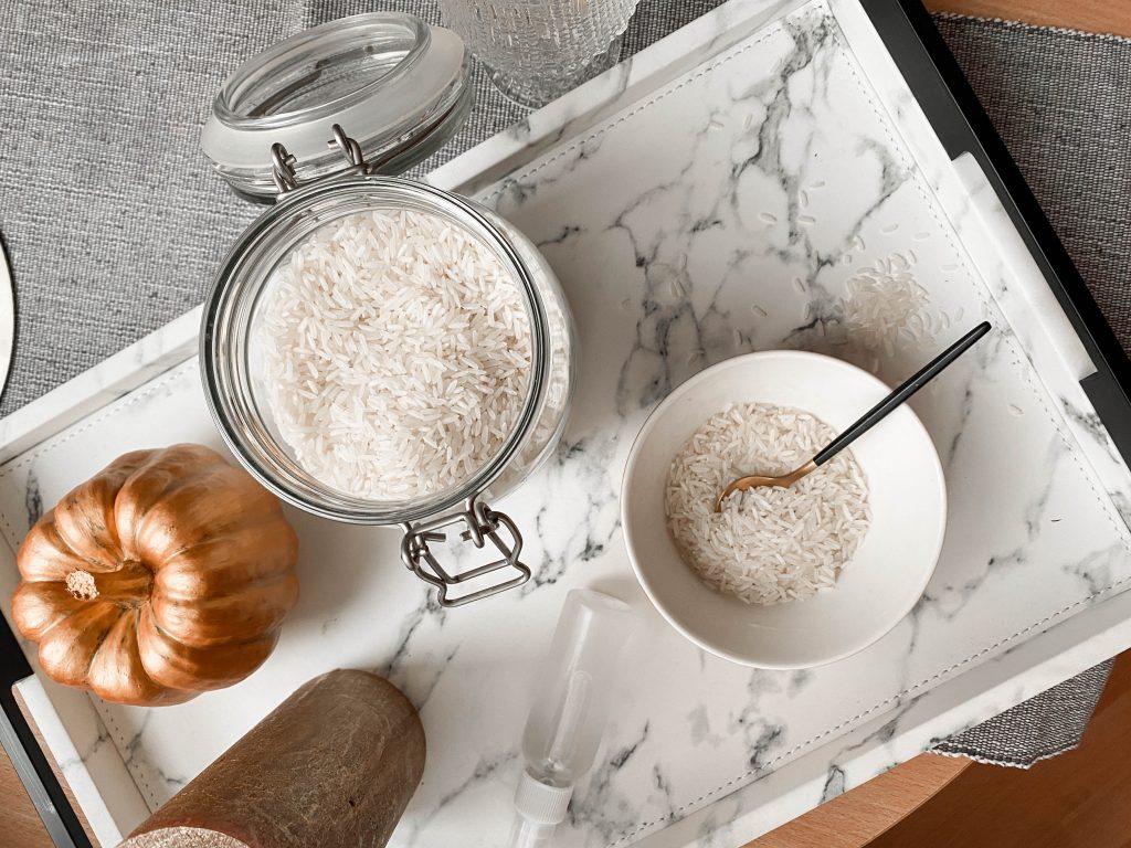 rīsu ūdens skaistumam pagatavošana