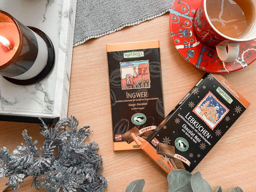 Rapunzel bioloģiskas šokolādes ziemassvētku