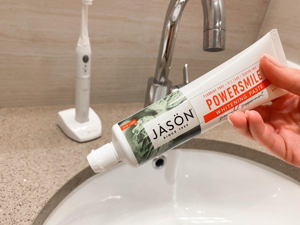 Powersmile dabīgi baltinoša zobu pasta Jason