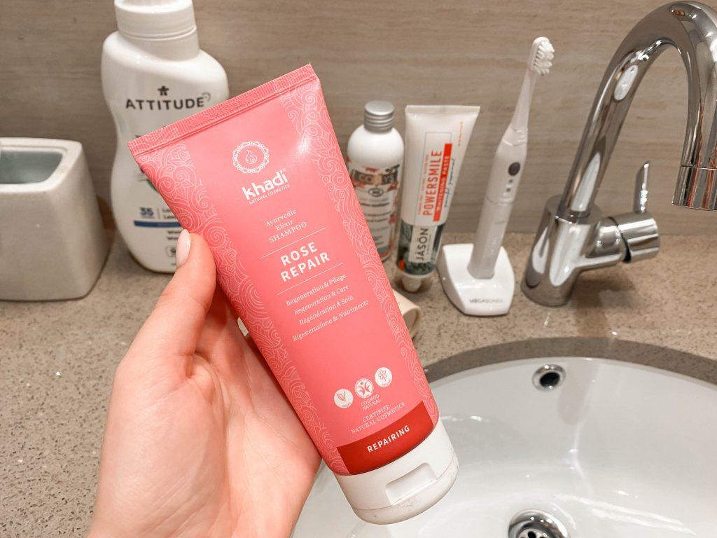 Khadi Rose ajurvedisks šampūns