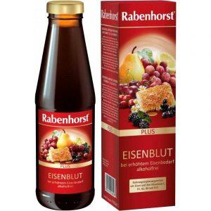 """Rabenhorst """"Eisenblut"""", uztura bagātinātājs ar dzelzi un vitamīniem 10,50 €"""
